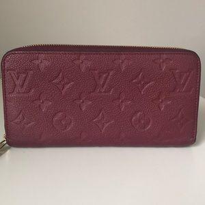 Louis Vuitton Aurore Empreinte Zippy